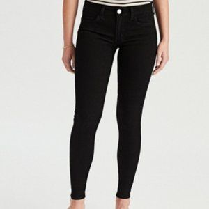American Eagle Black Super Stretch Jegging Jeans